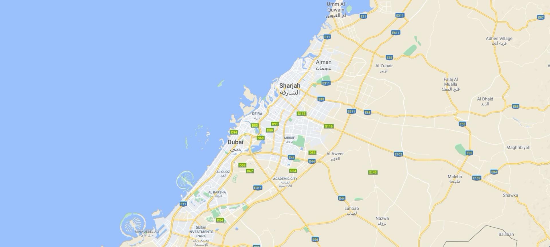 Speedex stores location map